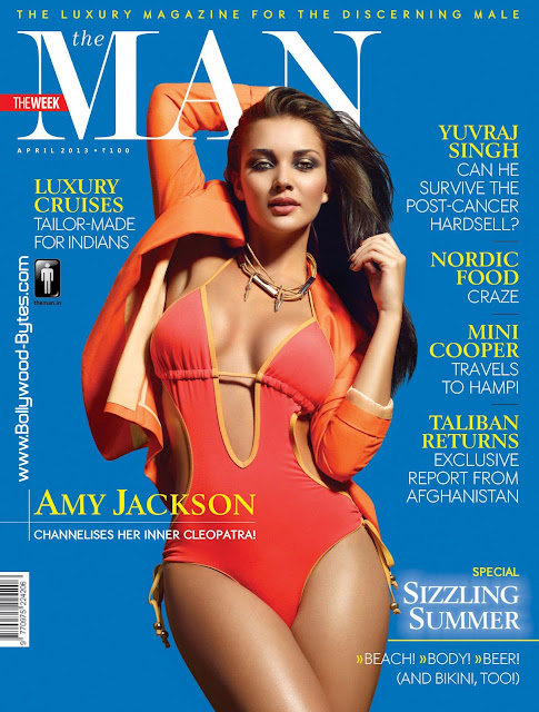 Sizzling Hot Amy Jackson Cover Girl The MAN April