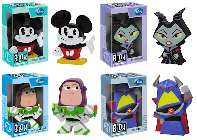 Disney Blox Series 1 by Funko - Mickey Mouse, Maleficent, Buzz Lightyear & Zurg