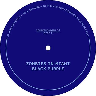 Zombies In Miami - Black Purple