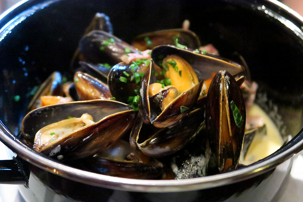 Moules Frites at the Malmaison Leeds Brasserie