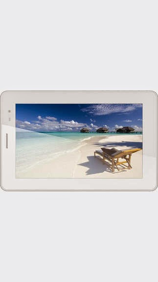Ebay : Buy Lava E-Tab iVORY Tablet (Silver) at Rs.5529