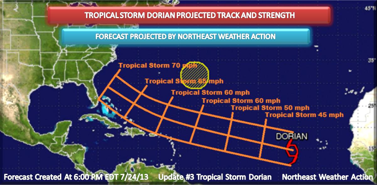 northeast weather action  tropical storm dorian