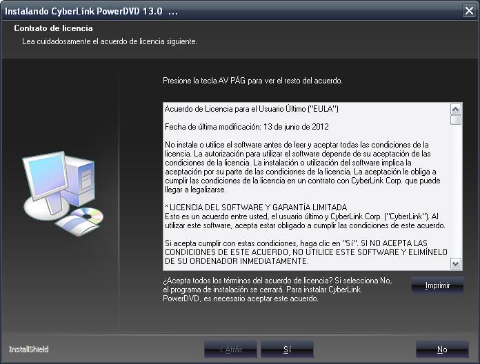 Cyberlink PowerDVD Ultra v.13.0.2720.57 [Español] [Full] Cap1.descargasvip.net