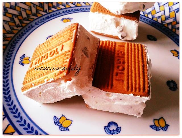 gelato biscotto senza gelatiera !!!