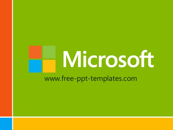 Microsoft Template Powerpoint