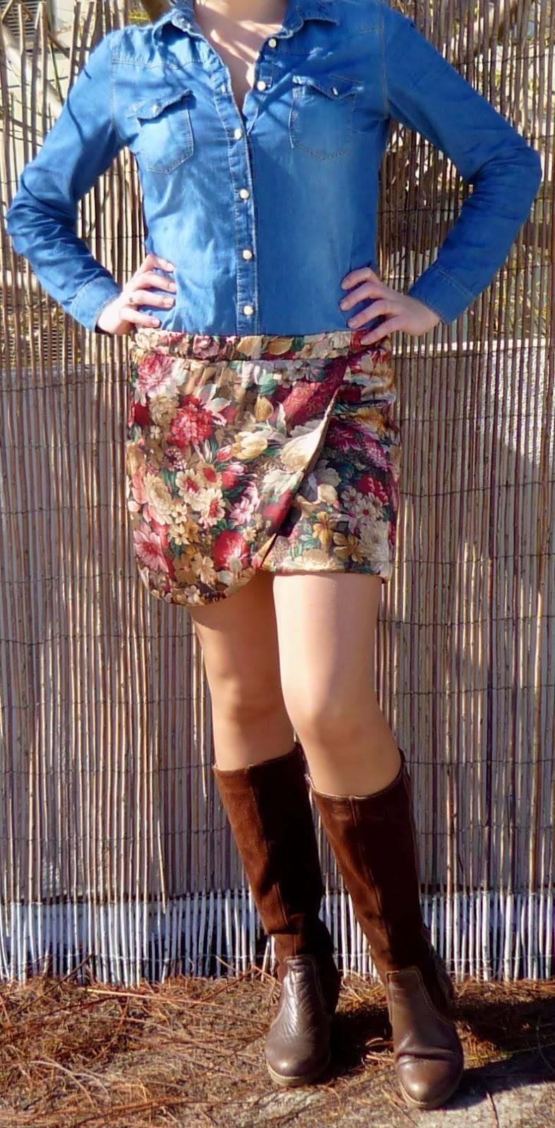 camisa vaquera chica