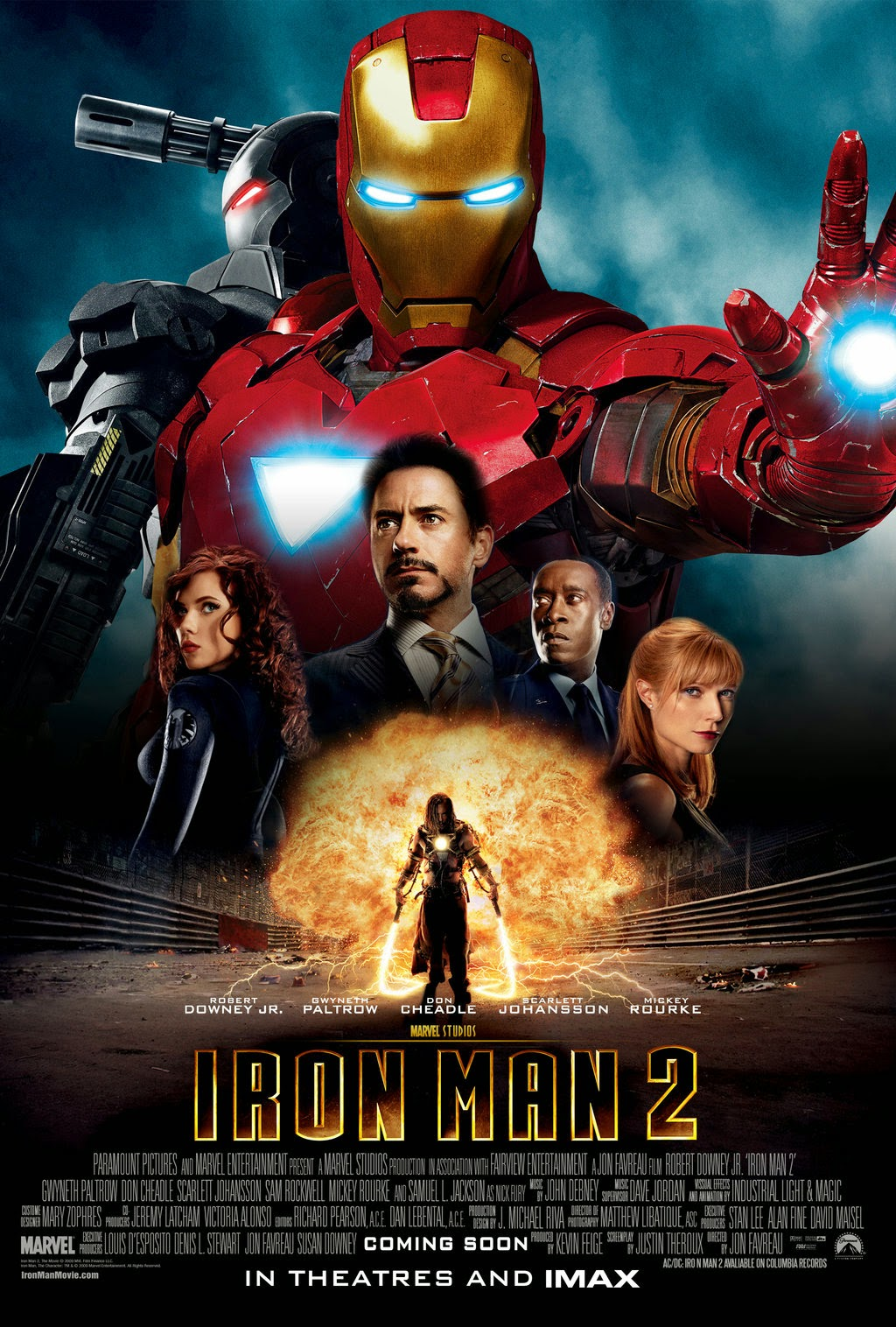 Iron Man 2: Poster | A Constantly Racing Mind