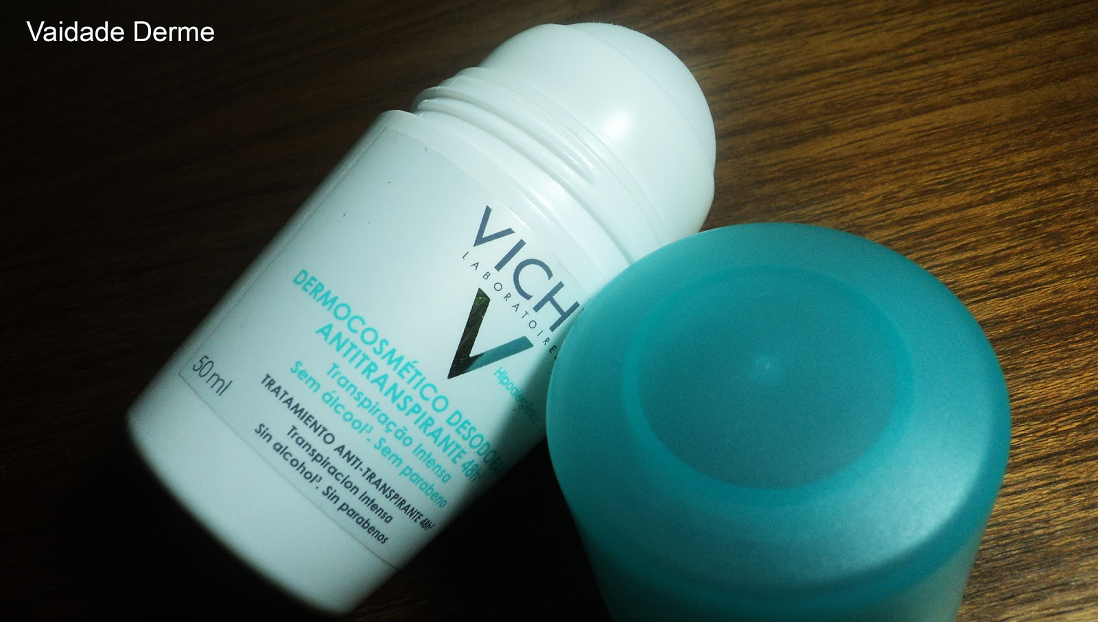Vichy Desodorante Antitranspirante Roll On 48h Verde