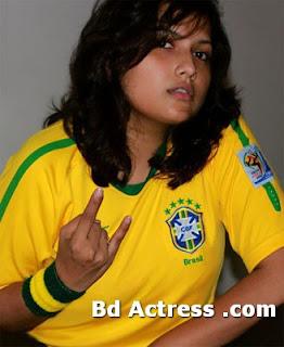 Bangladeshi TV anchor model Nadira