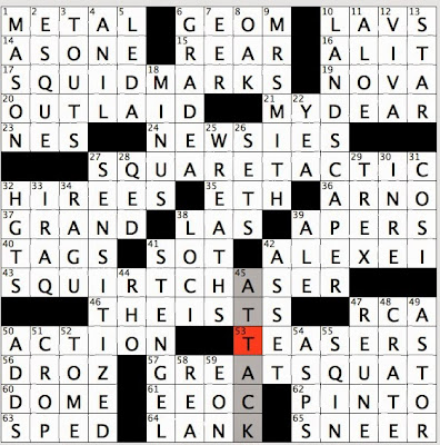 Rex Parker Does the NYT Crossword Puzzle | NetworkedBlogs by Ninua