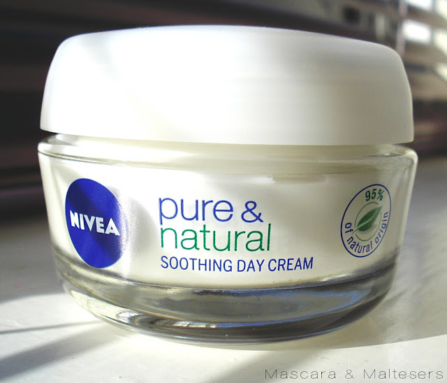 Nivea Pure and Natural Soothing Day Cream for Sensitive Skin