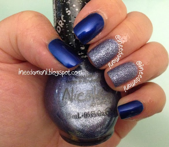 nicole opi gumbdrops blue berry sweet on you
