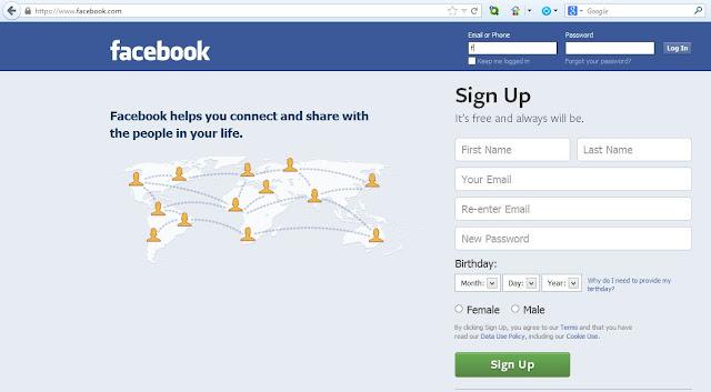 pirataria Facebook