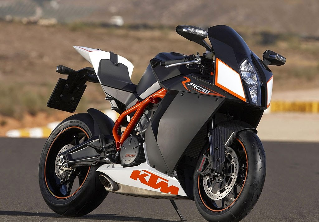 KTM RC8 R Black Bikes HD Images