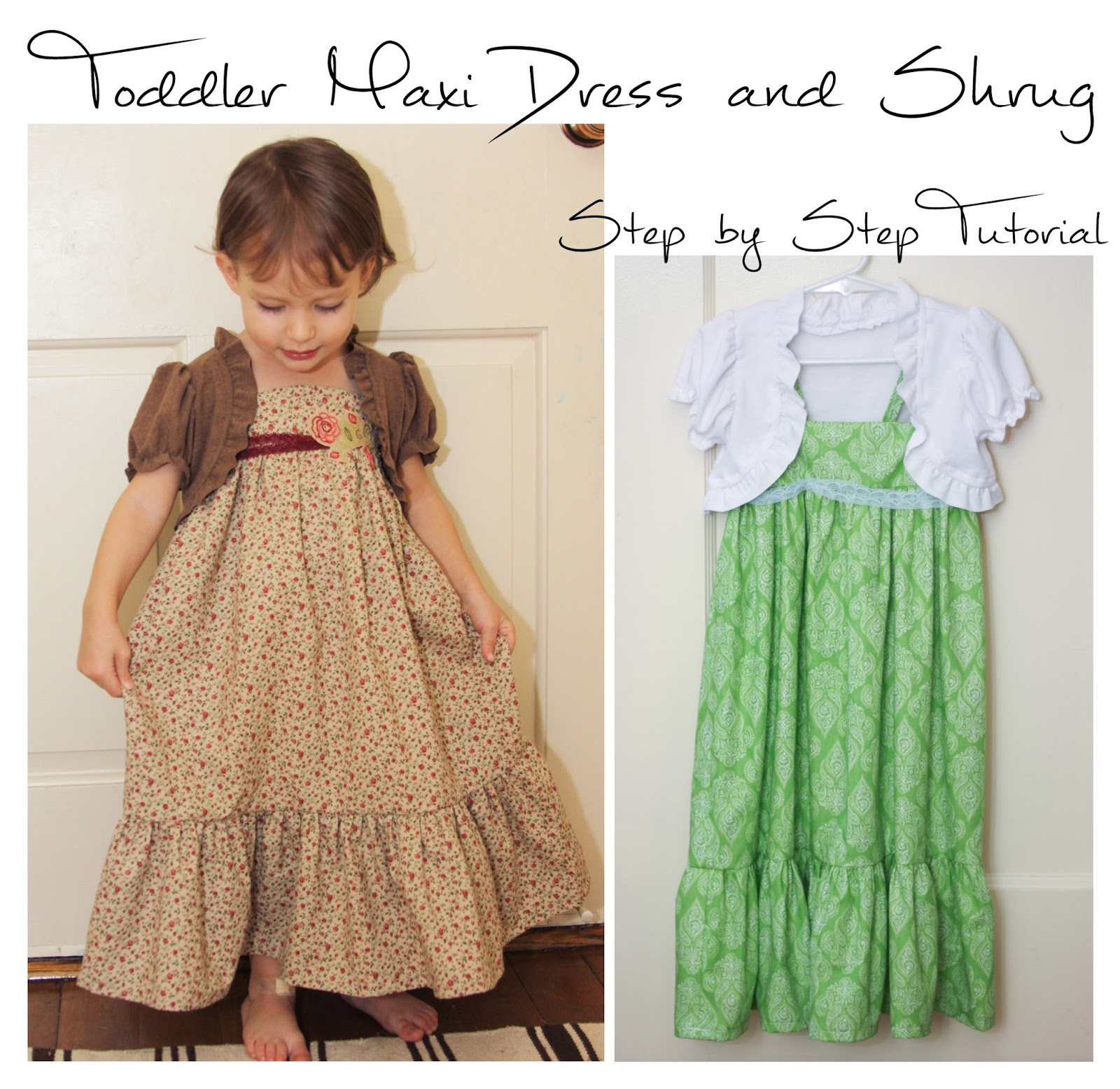 Maxi dress patterns for girls