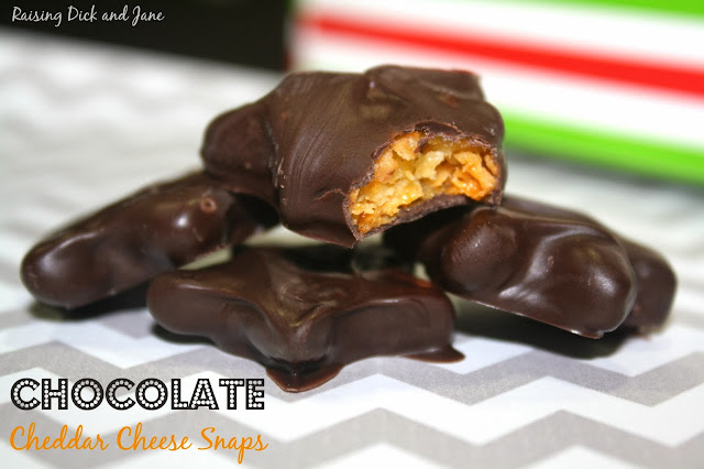 Chocolate Cheddar Cheese Snaps #shop #HolidayButter #cbias