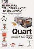 6 fira del joguet Quart 1 de noviembre 2014
