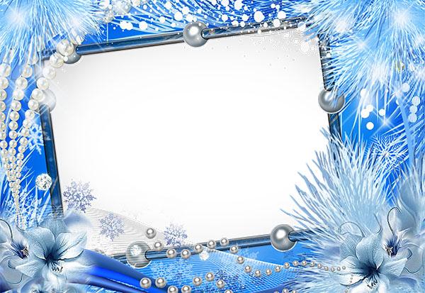 Winter Tenderness Frames for Photoshop 04