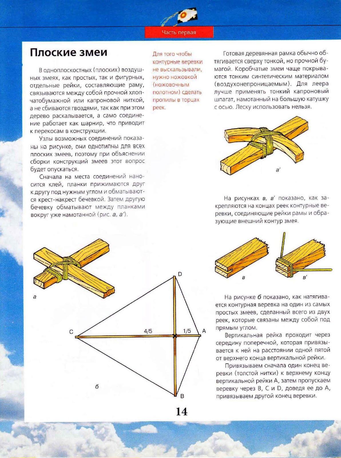 Как сделать воздушного змея? Инструкции, Схема, Фото 77