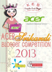 Acer Srikandi Blogger Competition 2013