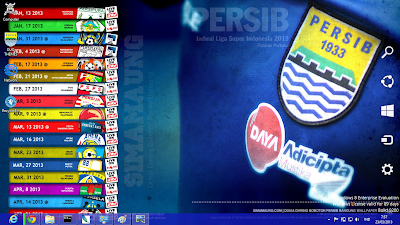 download gratis tema windows 7: Tema Persib Bandung 2013