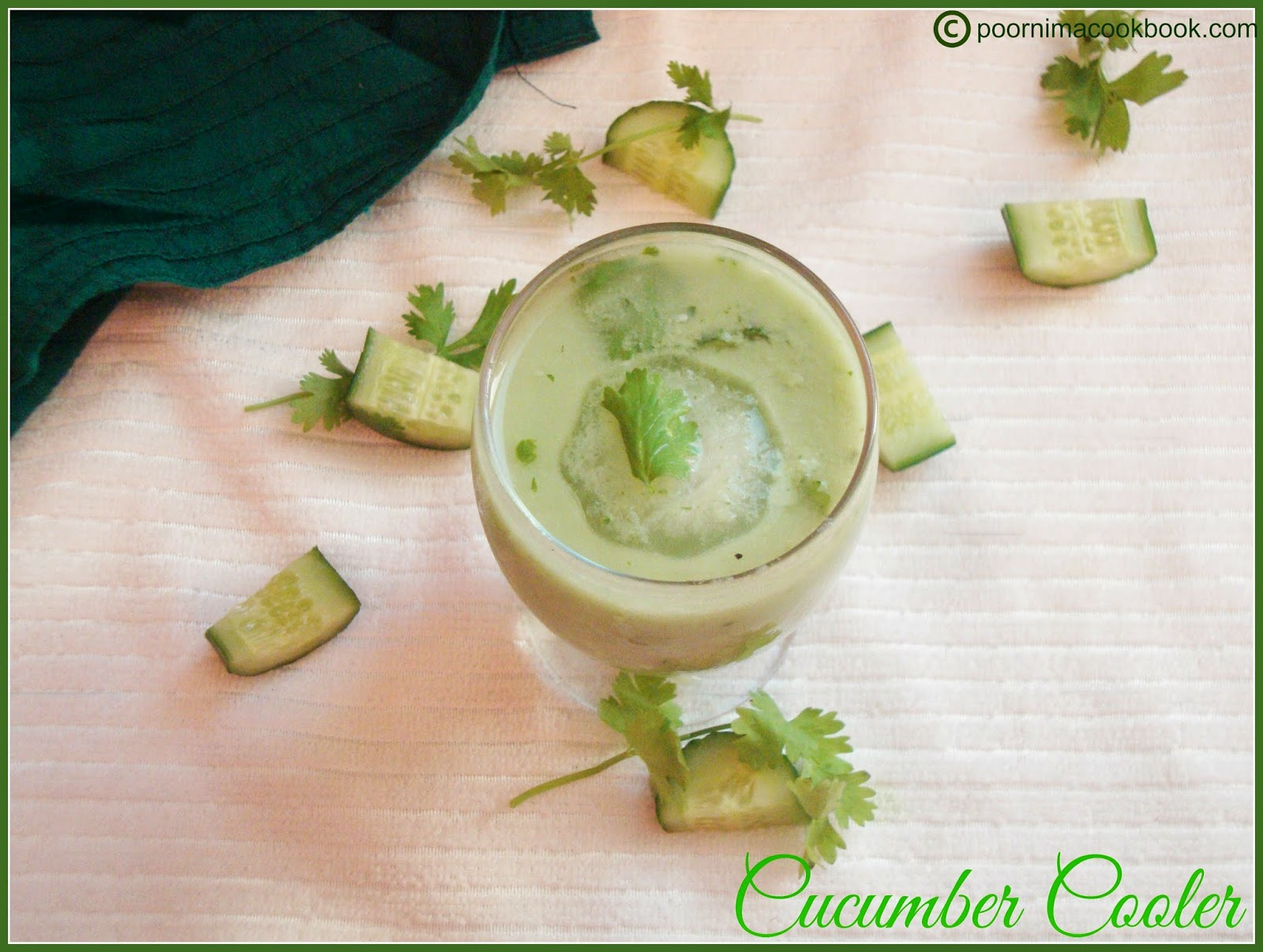 ... Cook Book: Cucumber Cooler / Cucumber Juice / Cucumber Yogurt Drink