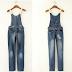 Moda: Macacão Jeans