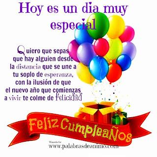 Frases Para Cumpleaños: Hoy Es Un Día Muy Especial