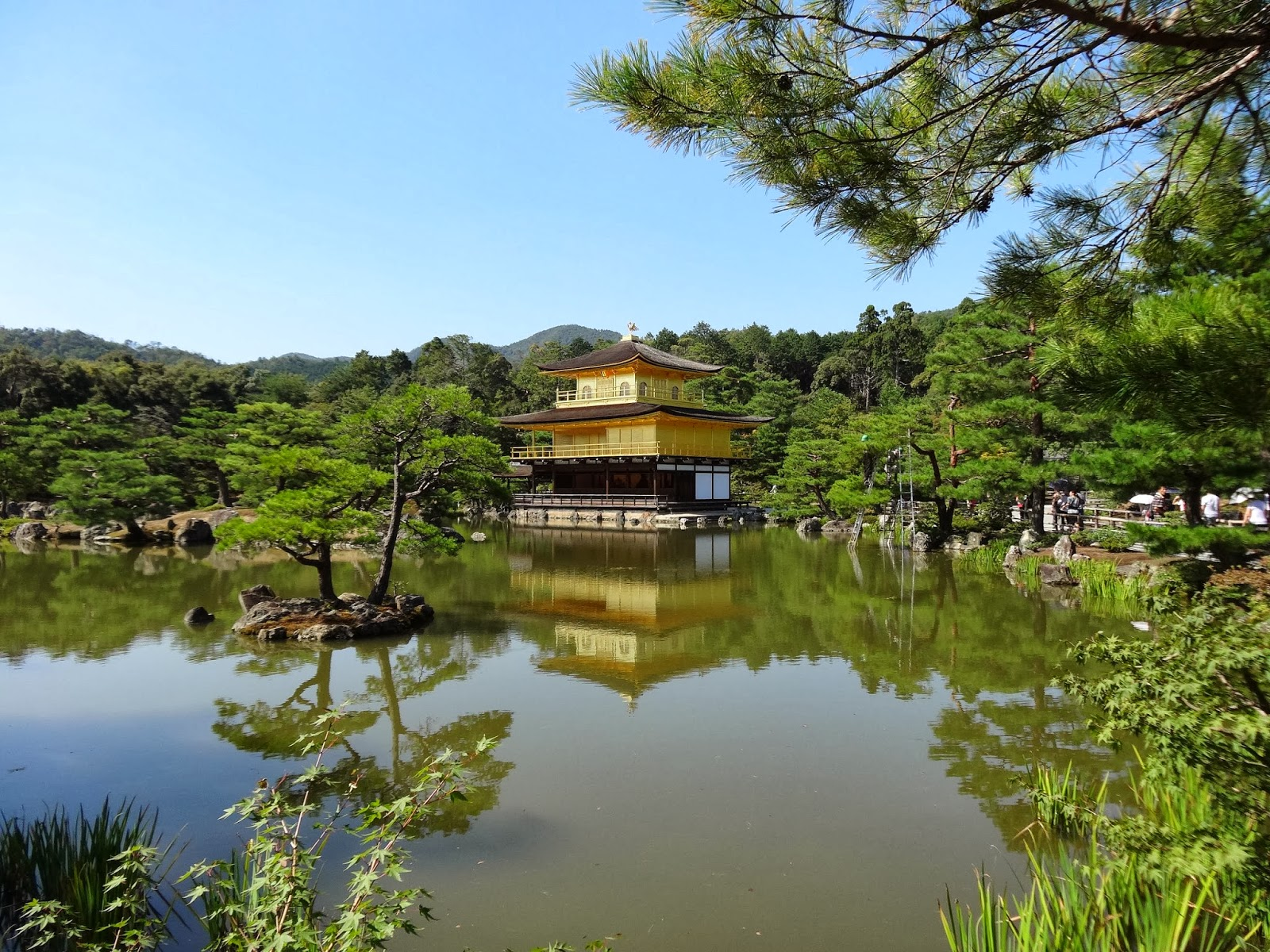 Le blog de parcs et jardins de l 39 oise le jardin du temple for Jardin kyoto