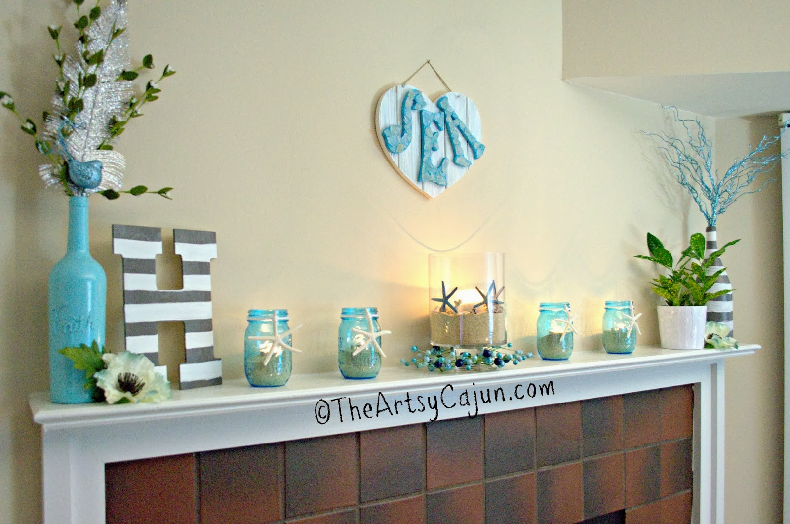 Artsy Decor Living Room
