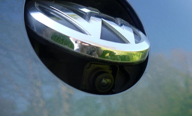 VW Passat reversing camera