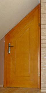 Drzwi trapez na poddasze