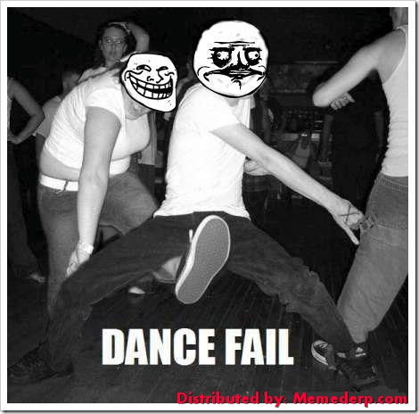 Meme Dance Fail