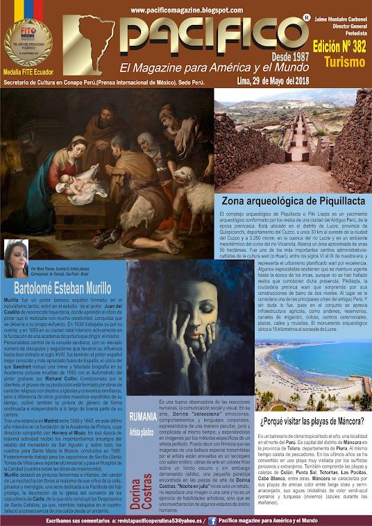 Revista Pacifico Nº 382 Turismo