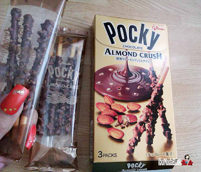 Pocky Chocolate Almond Crush