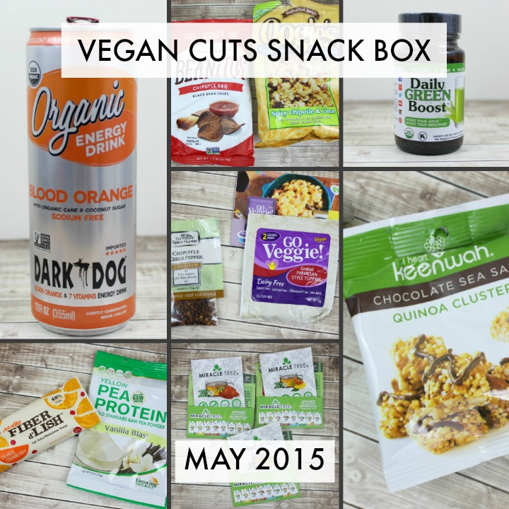 Vegan Cuts Snack Box - May 2015