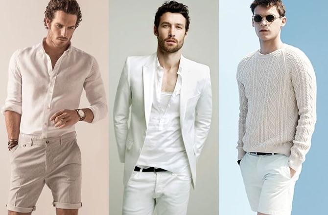 Men's Fashion Trend: All-white