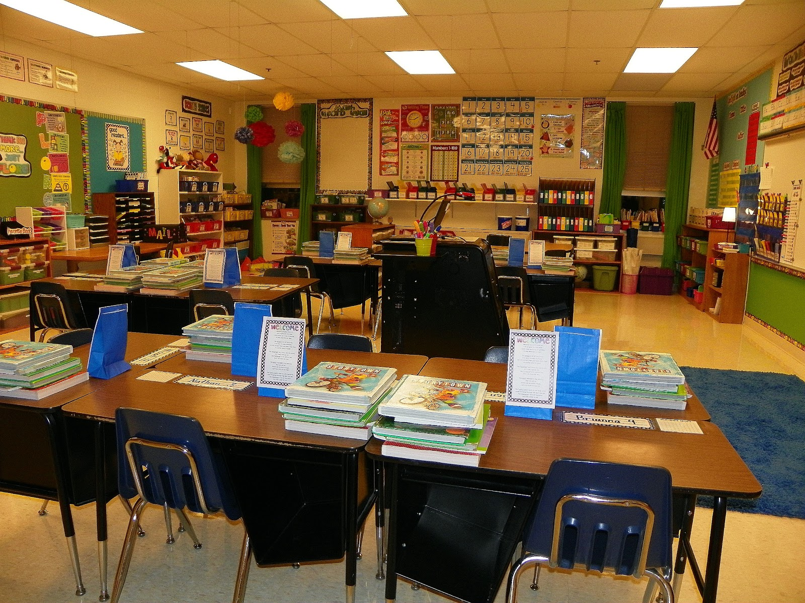 Classroom Design Second Grade ~ Serenade to second grade