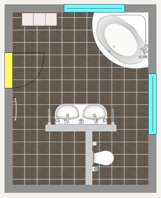 Dusche Mit Gefliester Sitzbank : Variante ge?ndert mit anschlie?ender, ebenfalls gefliester Sitzbank