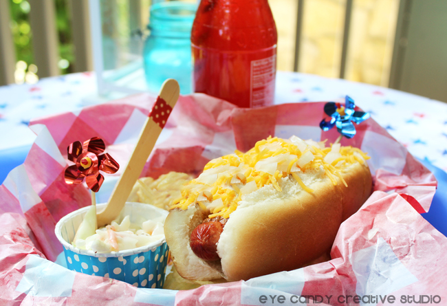 summer BBQ, Cincinnati coney dog, coleslaw, outdoor BBQ food