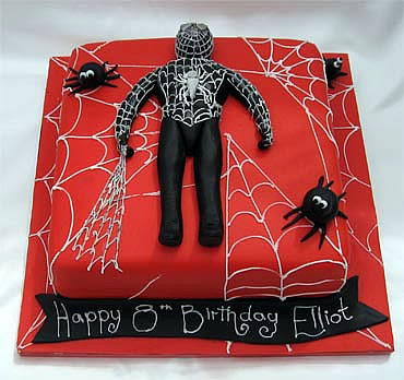 Spiderman cakes