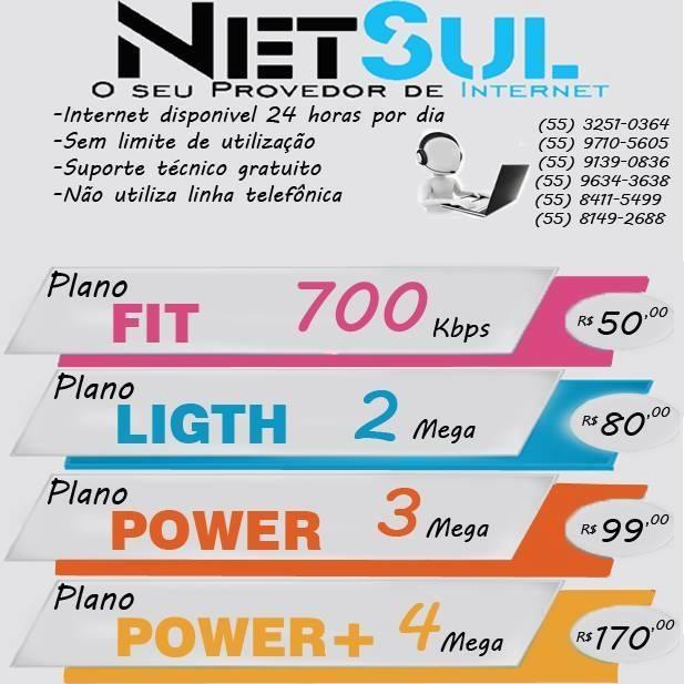 Net Sul - Internet em Santiago!