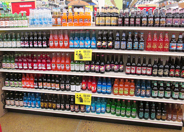 Frattallones Ace Hardware's soda selection in Burnsville.