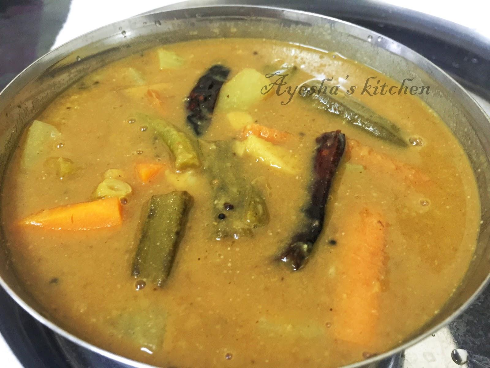 SOUTH INDIAN SAMBAR RECIPEWithout sambar powder