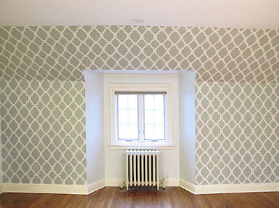 stencil, stenciling fabric, rugs, pillows, ceilings, floors, walls