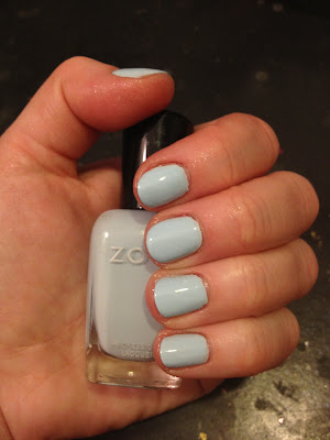 Zoya, Zoya nail polish, Zoya nail lacquer, Zoya Lovely Collection, Zoya Spring 2013 Lovely Collection, Zoya Blu, Zoya nail polish swatches, Zoya swatches, swatches, nail polish swatches, nail polish collection
