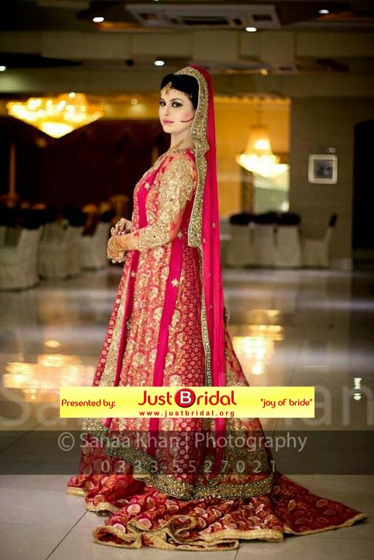 Pakistani dulhan shadi dress is collection of desi wedding dress for ...