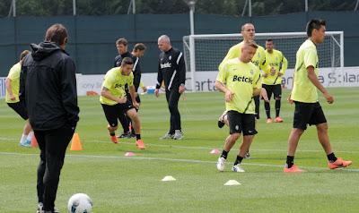 Ritiro estivo Juventus 2013