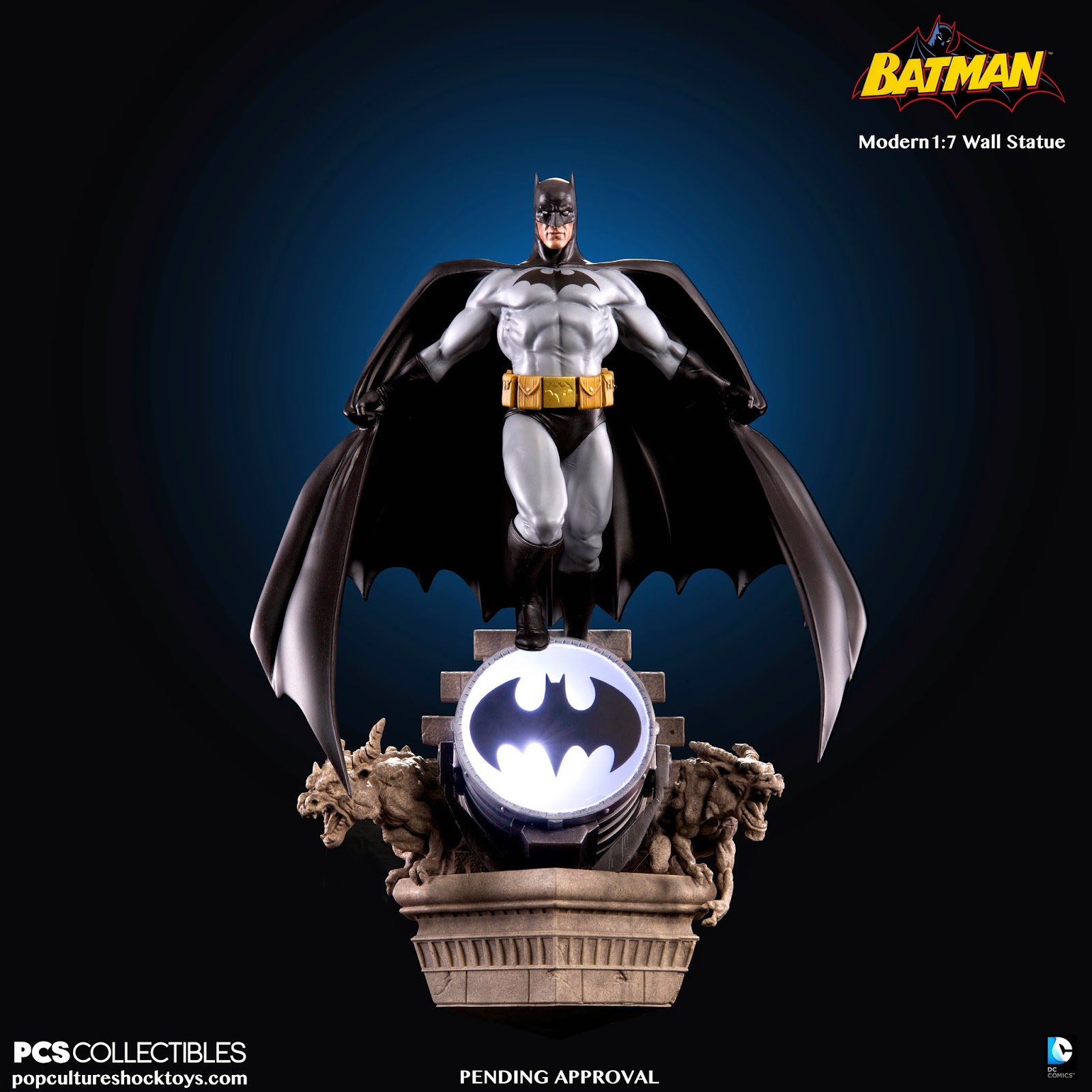 BATMAN MODERN AGE 1:7 WALL STATUE