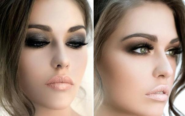 maquillaje de ojos ahumados